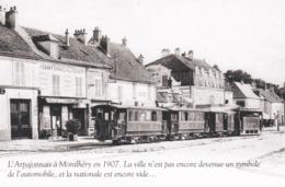 MONTLHERY - ESSONNE  -  (91)  -  L'ARPAJONNAIS A MONTLHERY... - Bus & Autocars
