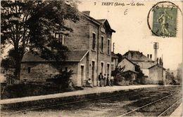 CPA TREPT - La Gare (653255) - France
