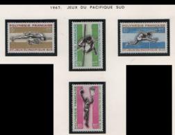 W35 Polynésie ° 42/45 Jeux Du Pacifique Sud - Polynésie Française