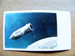 ERROR Proof Printing MISSING Text Of Country Face Value UAE AJMAN Space Bostok Vostok Spaceship Ussr Russia - Adschman