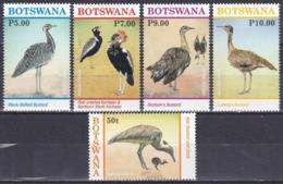 Botswana 2017 Tiere Fauna Animals Vögel Birds Oiseaux Aves Uccelli Trappen Bustards Naturschutz, Mi. 1062-6 ** - Botswana (1966-...)