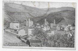 ROCHETAILLEE EN 1921 - N° 39 - VUE GENERALE - TACHE EN HAUT - CPA VOYAGEE - Rochetaillee