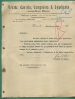 LAUR Francis Député De La Seine Et De La Loire Trusts Cartels Comptoirs Syndicats Signé Député De Paris 26 07 1905 - Autografi