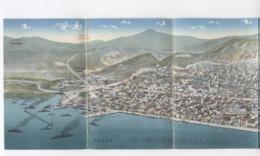 GRECE -GOLF SALONIQUE  DÉPLIANTE 4 CARTES  -RECTO/VERSO - B73 - Grecia