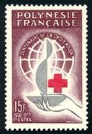 POLYNESIE 1963 - Yv. 24 **   Cote= 15,50 EUR - Centenaire Croix-Rouge Intern.  ..Réf.POL24299 - Polynésie Française