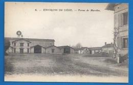 37 - LE LIÈGE - ENVIRONS - FERME DE MAROLLES - Francia