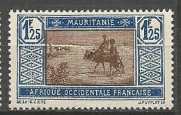 MAURITANIE N° 59A NEUF** SANS CHARNIERE / MNH - Mauritania (1906-1944)