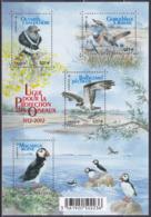 Frankreich France 2012 Tiere Fauna Animals Vögel Birds Oiseaux Aves Uccelli Trappen Bustards Fischadler, Bl. 177 ** - France