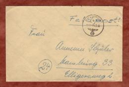 Feldpost, MPA Berlin M63380G, Tarnstempel, Nach Hamburg 1945 (80605) - Deutschland