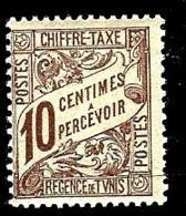 TUNISIE T29** 10c Brun - Tunisia (1888-1955)