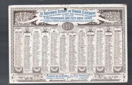 Chromo LIEBIG   Calendrier 1895 LE CID RODRIGUE TRIOMPHANT (PPP20622) - Calendari