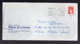 FRANCIA - GUEBWILLER  HAUT-RHIN  1981 - Storia Postale
