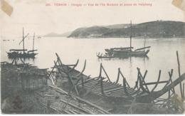 Indochine : Tonkin - Hongay - Vue De L'Ile Buisson Et Passe De Haiphong. - Viêt-Nam
