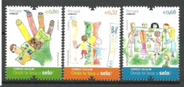 """Portugal 2012 Student Drawings On The Topic """"Sustainable Future"""". 3776-3778, MNH(**) - Neufs"""