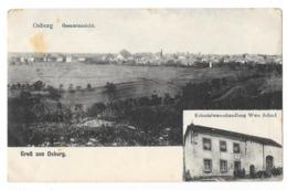 OSBURG (Allemagne) Carte Gruss Deux Vues - Otros