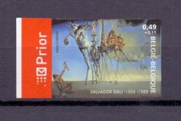 3254 SALVADOR DALI ONGETAND   POSTFRIS** 2004 - Belgique
