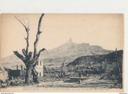 MARTINIQUE SAINT PIERRE APRES LA CATASTROPHE DU 8 MAI 1902  CPA BON ETAT - Other