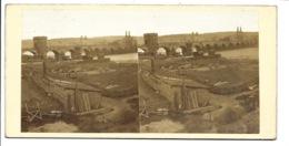 Photo Stéréoscopique - Coblence - Le Pont Sur La Moselle! - Stereoscopic