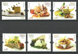 Portugal 2009 Traditional Food In The Portuguese-speaking Area Mi  3414 - 3419, MNH(**) - Neufs