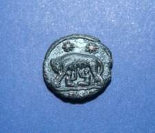 VRBS ROMA AE3 SISCIA Mint - 7. The Christian Empire (307 AD To 363 AD)