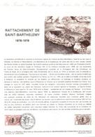 Document Officiel : Rattachement De L'île De Saint-Barthelemy - Postdokumente