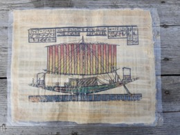 PAPYRUS EGYPT- - Representation Antique Scenes - Afrikanische Kunst