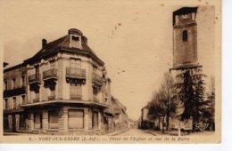 Nort Sur Erdre - Place De L'Eglise Et Rue De La Barre - Nort Sur Erdre