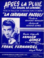 PARTITION FRANK FERNANDEL - APRES LA PLUIE - 1963 - EXC ETAT - - Music & Instruments
