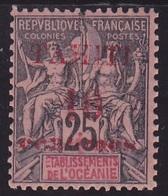 Tahiti N° 31 Neuf ** - Voir Verso & Descriptif - Tahiti (1882-1915)