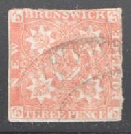 1851  Scott #1b  Very Fine - New Brunswick