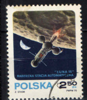 POLONIA - 1970 - Luna 16 Russian Unmanned, Automatic Moon Mission, Sept. 12-24 - USATO - Gebraucht