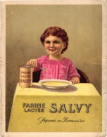 PUB.  FARINE LACTEE SALVY .. USINE A VERNON - Advertising