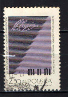 POLONIA - 1970 - 8th Intl. Chopin Piano Competition, Warsaw - USATO - Gebraucht