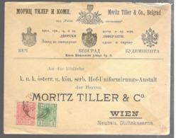 23120 - Pour WIEN 1893 - Serbien