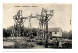Travaux Au Barrage De Vezoult - France