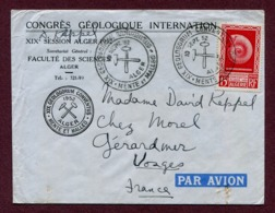 "ALGER  : "" CONGRES GEOLOGIQUE INTERNATIONAL ""  (1952) - Algeria (1924-1962)"