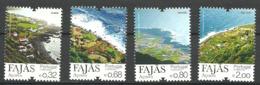 Portugal Acores 2012 Fajas, Das Almas, D'Alem Norte, Grande, Fajã De São João  Mi  579-582, MNH(**) - Açores