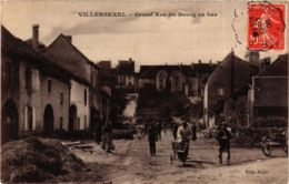CPA VILLERSEXEL Grande Rue Du Bourg En Bas (868836) - Other Municipalities