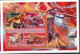 Niger 1999 Pompiers Fire Fighter MNH - Firemen