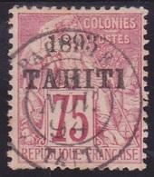 Tahiti N° 29 Oblitéré. - Voir Verso & Descriptif - Tahiti (1882-1915)