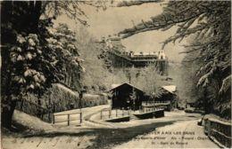 CPA Hiver AIX-les-BAINS Club Des Sports DHiver Gare Du Revard (868898) - Aix Les Bains