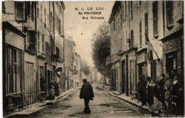 CPA LE LUC En Provence Rue Nationale (868987) - Le Luc
