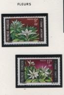 W36 Polynésie ° 64/65 Fleurs - Polynésie Française