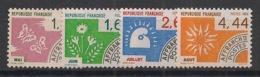 France - 1986 - Préo N°Yv. 190 à 193 - Série Complète - Neuf Luxe ** / MNH / Postfrisch - Préoblitérés