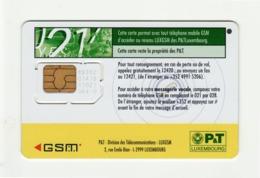 LUXEMBOURG P&T GSM SIM MINT - Luxemburg