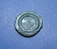 Jovianus AE3 CONSTANTINOPOLE Mint - 7. Der Christlischen Kaiser (307 / 363)