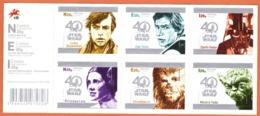 """Portugal  2017 Star Wars  - 40 Anos /  Star Wars - 40 Ans  # Timbres Auto-adhésif """" MNH # - 1910-... République"""