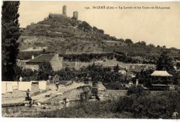 46  SAINT CERE  LE LAVOIR ET LES TOURS DE SAINT LAURENT - Saint-Céré