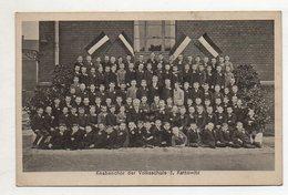 U7523/ Kattowitz Knabenchor Der Volksschule 3,  Schlesien Polen AK Ca.1920 - Schlesien