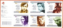"""Portugal Star Wars 2017 - 40 Anos /  Star Wars - 40 Ans  # Timbres Auto-adhésif """" MNH # - 1910-... République"""